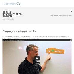 Europe Code Week 2015 - Sweden
