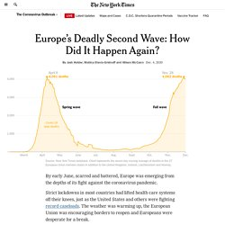 Europe's Deadly Second Wave: How Did It Happen Again?