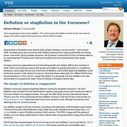 Europe does not face deflation danger