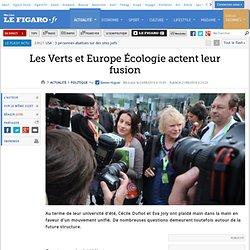 Politique : Les Verts et Europe Ecologie actent leur fusion