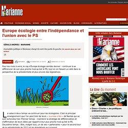 Europe écologie entre l'indépendance et l'union avec le PS