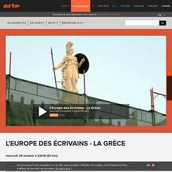 L'Europe des écrivains - La Grèce