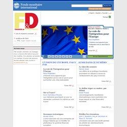 L'Union de l'Europe, pas à pas - Finances et Développement, Mars 2014