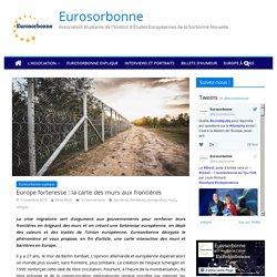 Europe forteresse : la carte des murs aux frontières