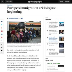 This is how immigration will change Europe over the rest of this century