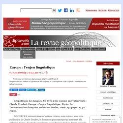 Europe : l'enjeu linguistique