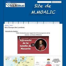 H2-L'Europe des Lumières - Site de M.Moalic