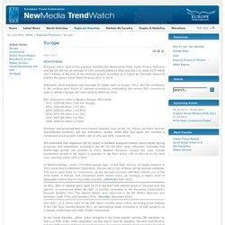 Europe - New Media Trend Watch Regions