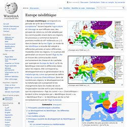 Europe néolithique