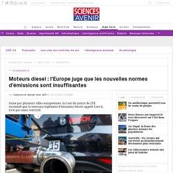 L'Europe juge les nouvelles normes diesel insuffisantes