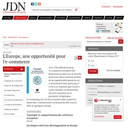 L'Europe, une opportunité pour l'e-commerce sur Journal du Net E-business