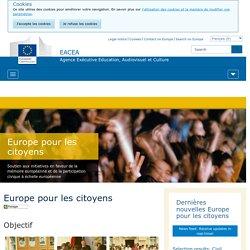 Europe pour les citoyens