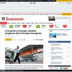 A la peine en Europe, Auchan progresse dans les pays émergents