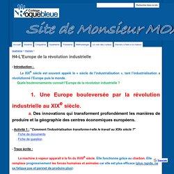 H4-L'Europe de la révolution industrielle - Site de M.Moalic