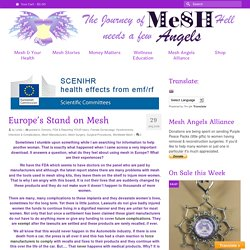 Europe's Stand on Mesh – Mesh Angels