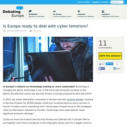 Is Europe ready to deal with cyber terrorism? — Debating Europe