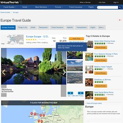 Europe Travel Guide - VirtualTourist