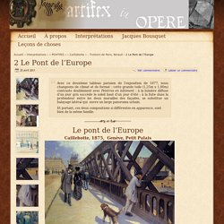 2 Le Pont de l'Europe - - Trottoirs de Paris Béraud - auto-citation