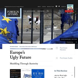 Europe's Ugly Future
