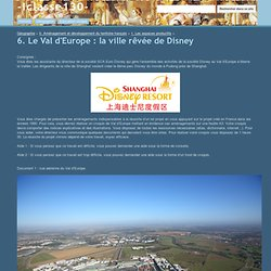 6. Le Val d'Europe : la ville rêvée de Disney - -Iclasse130-