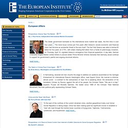 European Affairs official website