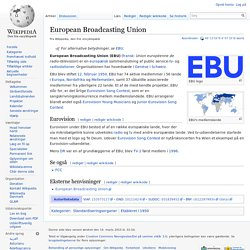 European Broadcasting Union