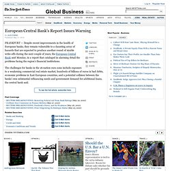 European Central Bank's Report Issues Warning