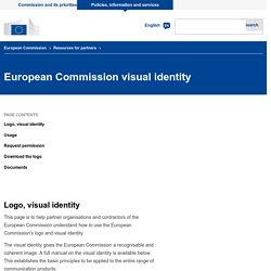 Visibilité- Logo officiel Commission Européenne
