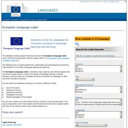 European Commission - European Language Label