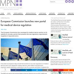 European Commission launches new portal for medical device regulation