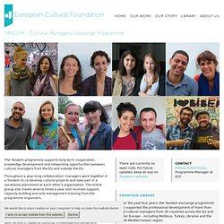 Tandem - European Cultural Foundation