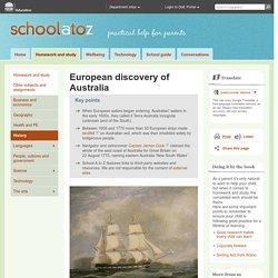 Discovery of Australia