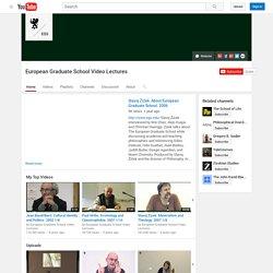 European Graduate School Video Lectures