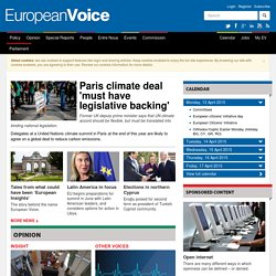 European Voice | An independent voice on EU news and affairs