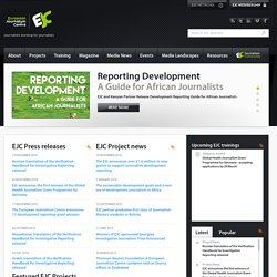 Homepage - European Journalism Centre