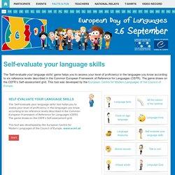 Language Fun > Self-evaluate your language skills!