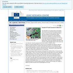 European ICT sector maintains its R&D drive - News & events - JRC