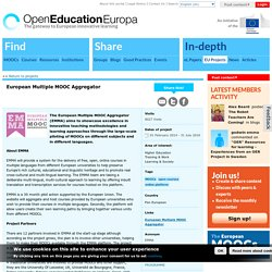 European Multiple MOOC Aggregator
