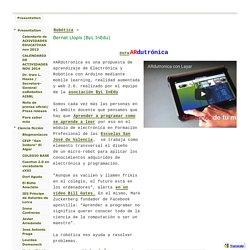 Bernat Llopis (ByL InEdu) - European Robotics Week 2013 Education