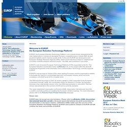 European Robotics Technology Platform