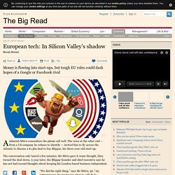 European tech: In Silicon Valley's shadow