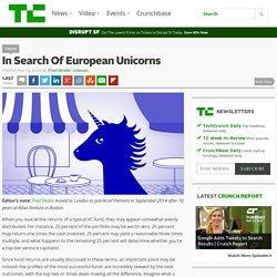 In Search Of European Unicorns