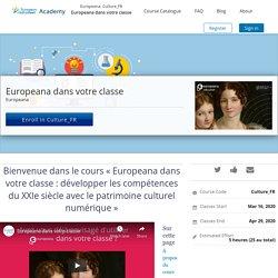 """MOOC """"Europeana dans votre classe : développer les compétences du XXIe siècle avec le patrimoine culturel numérique"""""""
