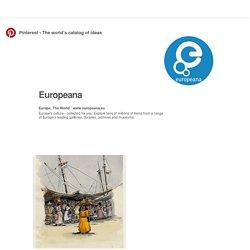 Tablero Europeana en Pinterest
