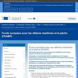 Fonds européen pour les affaires maritimes et la pêche (FEAMP)