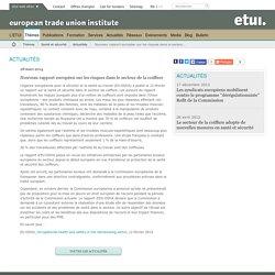 Nouveau rapport européen sur les risques dans le secteur de la coiffure / Actualités / Santé et sécurité / Thèmes