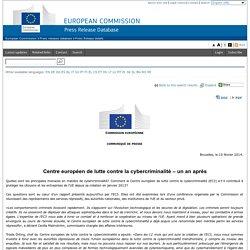 Centre Européen de Lutte contre la Cybercriminalité (EC3)