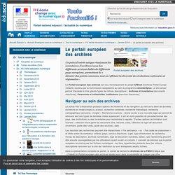 Le portail européen des archives — Enseigner avec le numérique