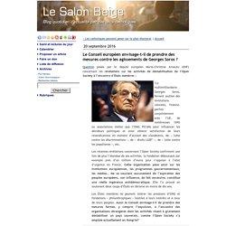 Le Conseil européen envisage-t-il de prendre des mesures contre les agissements de Georges Soros ?
