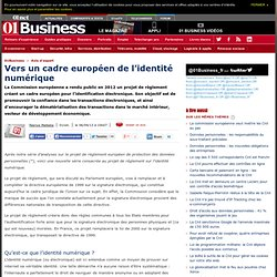 Vers un cadre européen de l'identité numérique